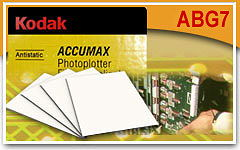 Фототехническая пленка Kodak Accumax Photoplotter Film ABG7 508x610 mm / 100 sheet