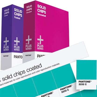 PANTONE SOLID CHIPS with Supplement Coated & Uncoated (GP1303XR)