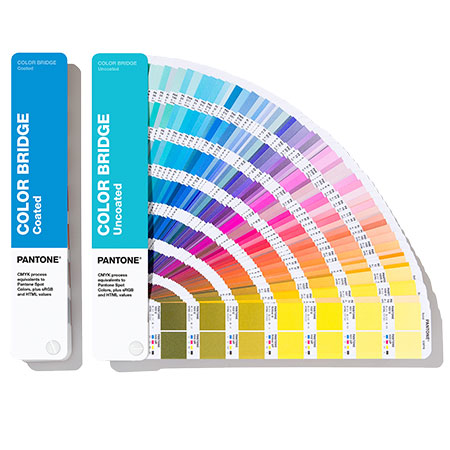 Цветовой справочник PANTONE COLOR BRIDGE Coated & Uncoated Set 2020 (GP6102A)